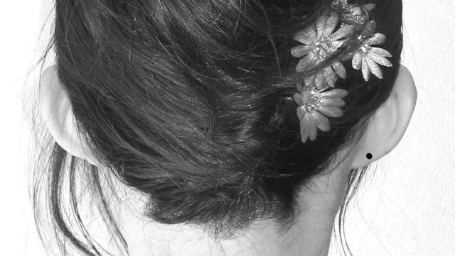 耳の裏のほくろ 耳たぶ 垂珠