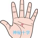 不思議な力を秘めた手相「神秘十字線」の解説と7の秘密