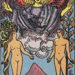 タロットカードの大アルカナ「恋人」の意味と解説