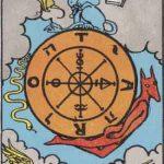 タロットカードの大アルカナ「運命の輪」の意味と解説