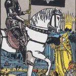 タロットカードの大アルカナ「死神」の意味と解説