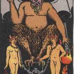 タロットカードの大アルカナ「悪魔」の意味と解説