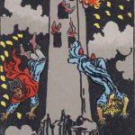 タロットカードの大アルカナ「塔」の意味と解説