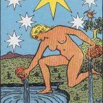 タロットカードの大アルカナ「星」の意味と解説
