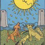 タロットカードの大アルカナ「月」の意味と解説