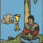 タロットカードの小アルカナ「カップの4」の意味と解説