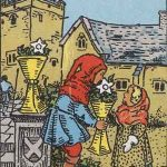 タロットカードの小アルカナ「カップの6」の意味と解説