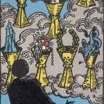 タロットカードの小アルカナ「カップの7」の意味と解説