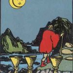 タロットカードの小アルカナ「カップの8」の意味と解説