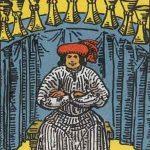 タロットカードの小アルカナ「カップの9」の意味と解説