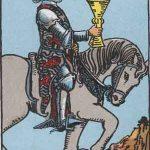 タロットカードの小アルカナ「カップのナイト」の意味と解説