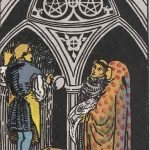 タロットカードの小アルカナ「コインの3」の意味と解説