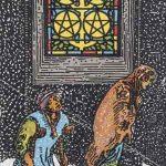 タロットカードの小アルカナ「コインの5」の意味と解説