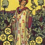 タロットカードの小アルカナ「コインの9」の意味と解説