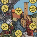 タロットカードの小アルカナ「コインの10」の意味と解説