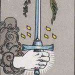 タロットカードの小アルカナ「ソードのエース」の意味と解説