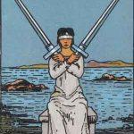 タロットカードの小アルカナ「ソードの2」の意味と解説