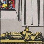 タロットカードの小アルカナ「ソードの4」の意味と解説