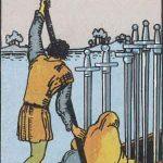 タロットカードの小アルカナ「ソードの6」の意味と解説