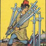 タロットカードの小アルカナ「ソードの7」の意味と解説
