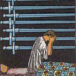 タロットカードの小アルカナ「ソードの9」の意味と解説