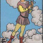 タロットカードの小アルカナ「ソードのペイジ」の意味と解説