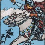 タロットカードの小アルカナ「ソードのナイト」の意味と解説