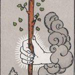 タロットカードの小アルカナ「ワンドのエース」の意味と解説