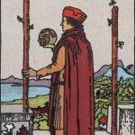 タロットカードの小アルカナ「ワンドの2」の意味と解説