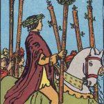 タロットカードの小アルカナ「ワンドの6」の意味と解説