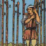 タロットカードの小アルカナ「ワンドの9」の意味と解説