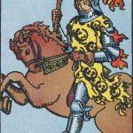 タロットカードの小アルカナ「ワンドのナイト」の意味と解説