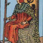 タロットカードの小アルカナ「ワンドのキング」の意味と解説