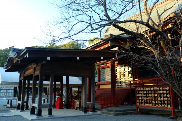 鎌倉・鶴岡八幡宮の社務所