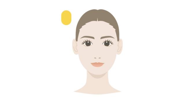 顔の形・頭の形 長方形 修正