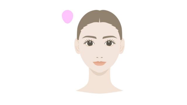 顔の形・頭の形 卵形 修正